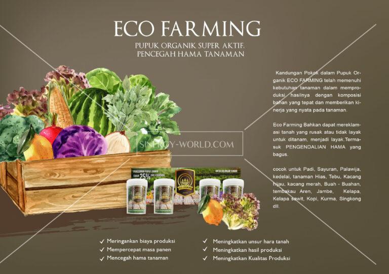 Eco Farming Pupuk Organik Paling Dahsyat
